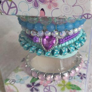 Piper Beaded and Fabric Bracelet Gift Set GG708